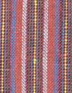 NY designer fine quality cross dye linen stripe - brick
