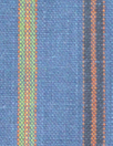 fine quality cross dye linen stripe - blue