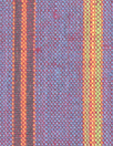 fine quality cross dye linen stripe - spicy plum
