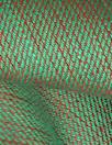 European medium weight linen twill woven - green/bittersweet