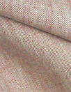 fine quality cross dye linen - rouge/white