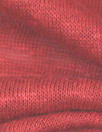 100% linen knit - soft red