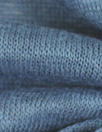 100% linen knit - denim