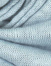 100% linen knit - dusty blue