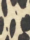 NY designer lightweight linen knit - animal dot 1 yard