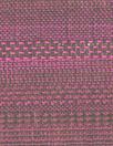 Italian silk/poly fuschia/chocolate yarn-dye stripey woven