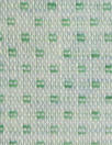 Italian linen/viscose jacquard woven - wintergreen checkers
