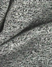 salt/pepper marled rayon blend jersey 4-way