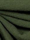 bottle green merino wool jersey - Oeko-tex certified