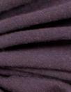 aubergine merino wool jersey - Oeko-tex certified