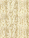 O! Jolly! natural white Saratoga Rib sweater knit