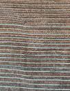 Italian viscose/metallic ombre' stripe woven