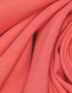 bright coral organic cotton/spandex jersey 4-way