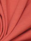 dark coral organic cotton/spandex jersey 4-way