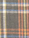 Steven A1an yarn-dye plaid linen shirting - woodsy brown