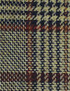 Italian earthtones yarn dyed doublesided plaid woven