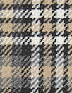 NY designer stretch yarn doubleface dyed plaid
