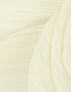 NY designer pleated woven - ivory