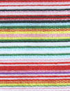 Italian silk/poly yarn-dye multicolor striped organza