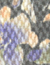 Italian floral poly/wool basketweave - gray