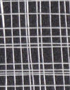 gridwork poly 'silk' woven - black/white