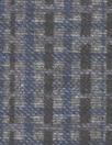 'crossweave' print ponte - cadet/charcoal/black