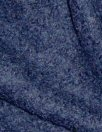 textured poodle knit wool coating - navy