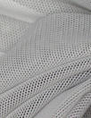 Power Mesh 4-way stretch - silvery gray
