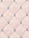 quilted diamond 3-ply knit - pink blush/graphite