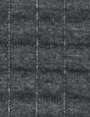 NY designer quilted grid matelasse' knit - dark charcoal