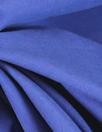 NY designer royal blue cotton rainwear