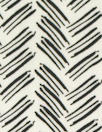 stylized herringbone drapey viscose woven - black/white