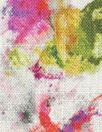linen-look digital print rayon woven - 'hippie rorschach'