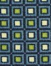 CA designer viscose crepe woven - little squares