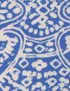 Sp1endid blue/white drapey viscose stretch woven