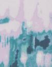 Sp1endid aqua/lilac abstract drapey viscose woven