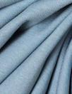 smokey blue 11 oz. rayon jersey 4-way