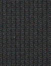 CA designer black poly sweater ribbing