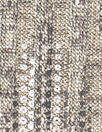 sequin-look streaky ribbed sweater knit - champagne 1 yard