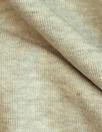 super soft 1x1 rib viscose/spandex knit - oatmeal heather