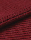 oeko-tex cert. bamboo/cotton circular tube ribbing - persian red