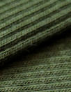 oeko-tex cert. bamboo/cotton circular tube ribbing - fern