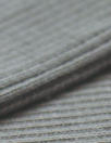 oeko-tex cert. bamboo/cotton circular tube ribbing - gray
