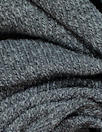 tweedy ribbed sweater knit - graphite