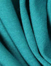 bright teal lightweight rayon jersey 4-way