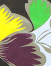 M@x Mara silk crepe woven - stylized floral