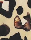 NY designer leopard spot silk charmeuse