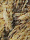 Italian basketweave closeup silk/viscose woven