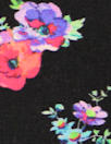 NY designer little flowers silk blouseweight woven