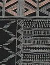 NY designer silk crepe de chine - graphic nocturne